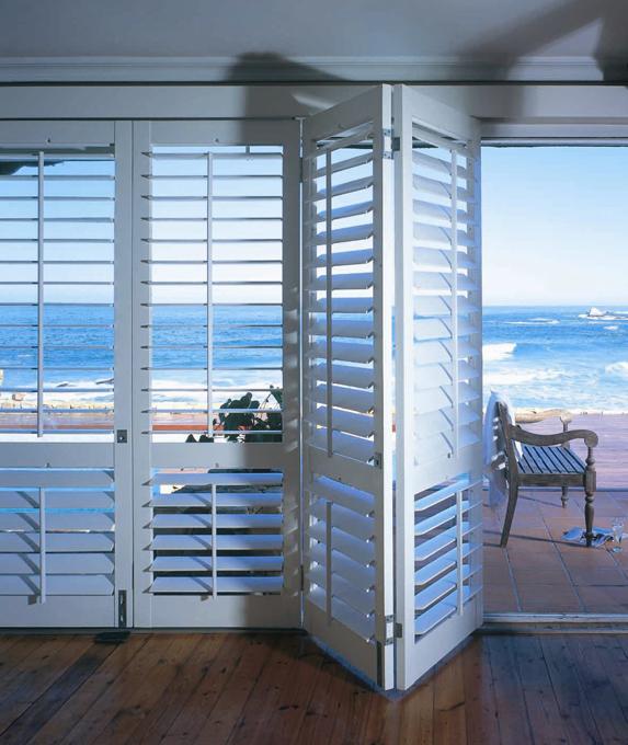Plantation shutters for Indoor outdoor doors